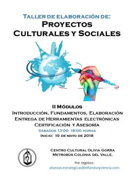 Taller Proyectos Culturales y Sociales 1