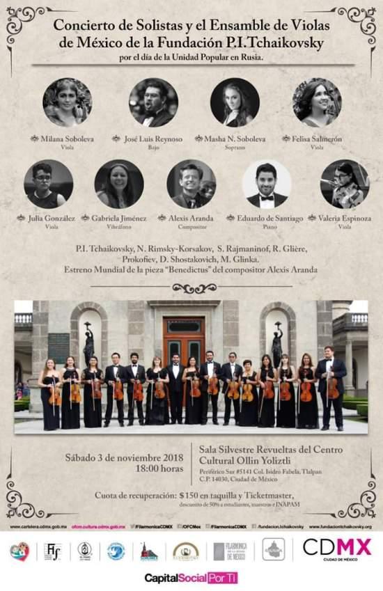 Concierto Rusia-Mexico