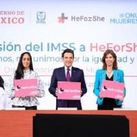 IMSS fortalece sus lazos por las mujeres