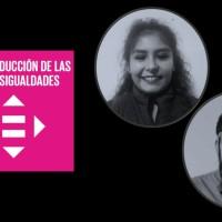 Geraldine Portanda y Jorge Muñoz:  Rotaract-Bolivia|Agente de Cambio ODS 10: Reducción de las Desigualdades