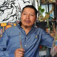 El arte que concilia con la Tierra: Filogonio Naxín |Navegantes Literarios